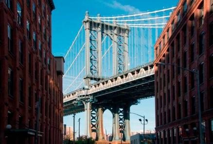 Cuadro Puente de Brooklyn ny (bept2002)