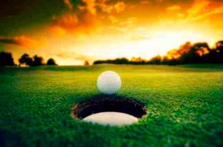 Cuadro hoyo golf (bfl42638818)