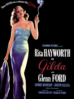 Cuadro cartel cine Gilda (bme087002)