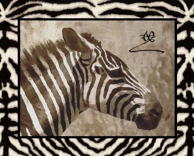 Cuadro cebra (bme100301)