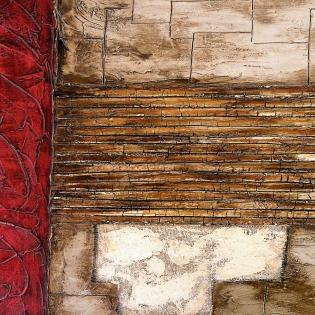 Cuadro abstracto rustico (bme190070)