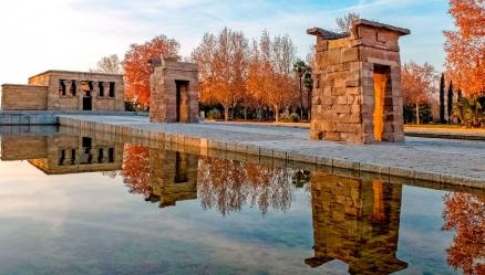Cuadro templo de Debod Madrid (bpx0015)