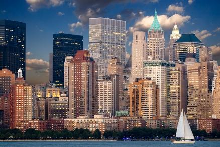 Cuadro rascacielos NY (bpx0022)