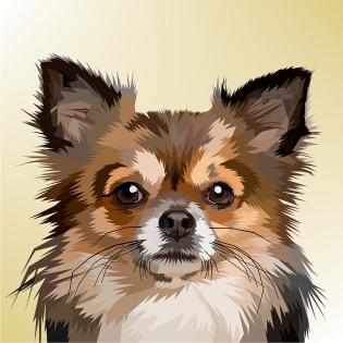 Cuadro perro (bpx0232)