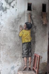 Cuadro niño sobre la silla (bpx0518)