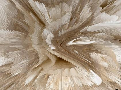 Cuadro abstracto explosion tonos claros (bpx0622)