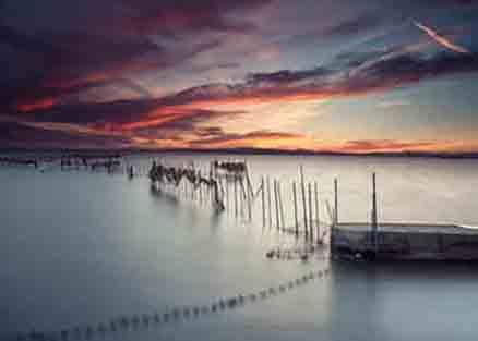 Cuadro mar en calma (bfl117147969)