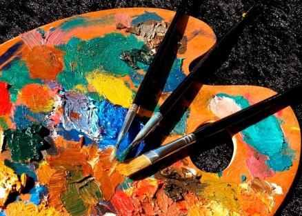 Paleta pintura