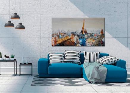Cuadro ciudad de Paris (bjlp014)